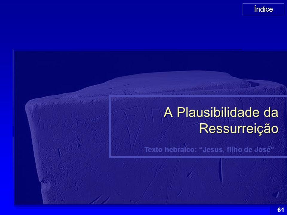 A Plausibilidade da Ressurreição