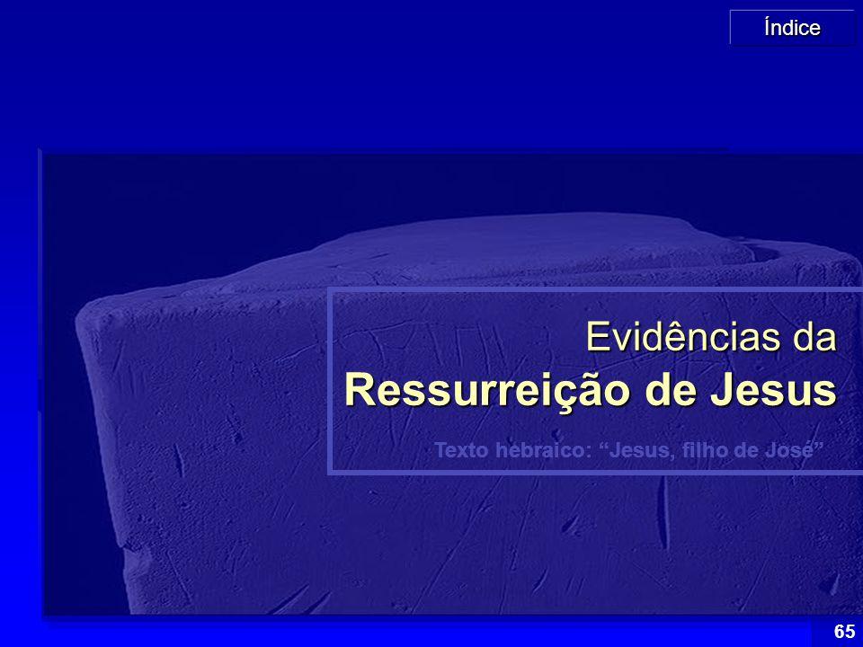 Evidências da Ressurreição de Jesus