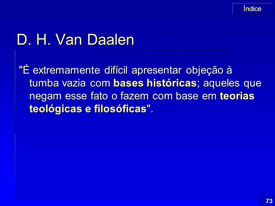 D. H. Van Daalen