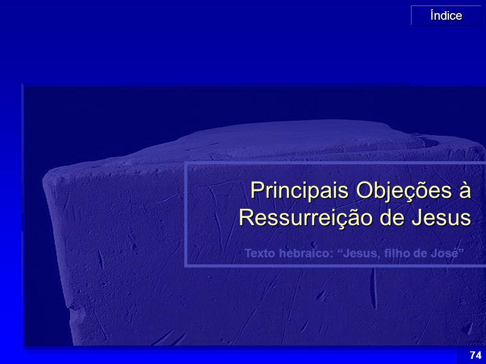 Principais Objeções à Ressurreição de Jesus