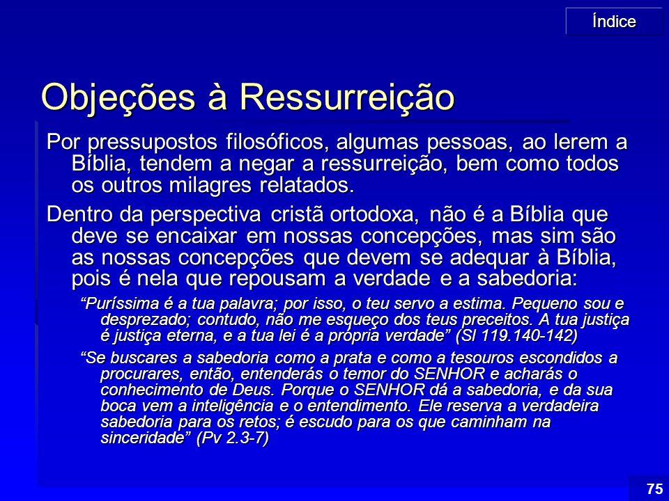 Objeções à Ressurreição