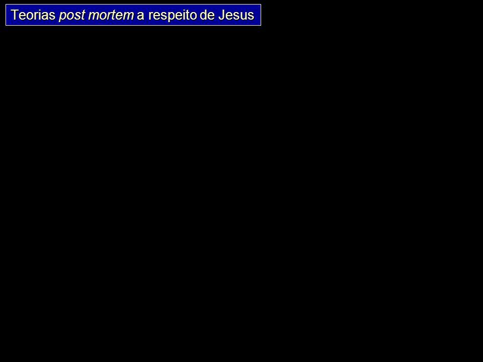 Teorias post mortem a respeito de Jesus