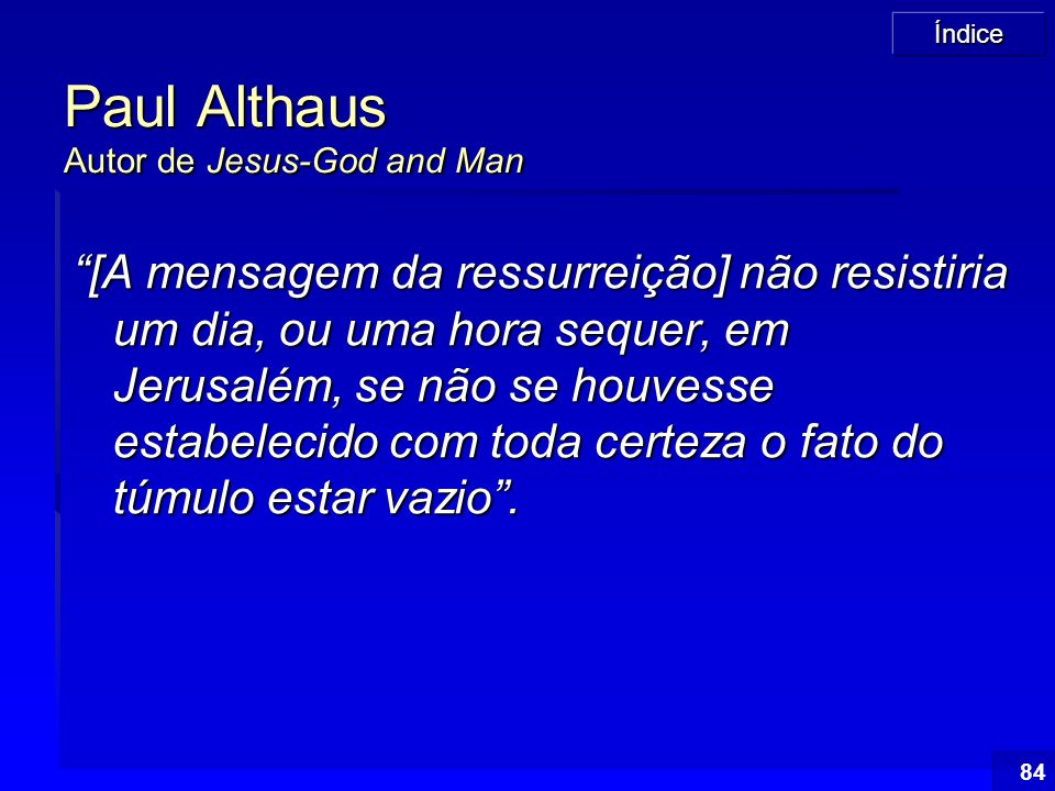Paul Althaus Autor de Jesus-God and Man