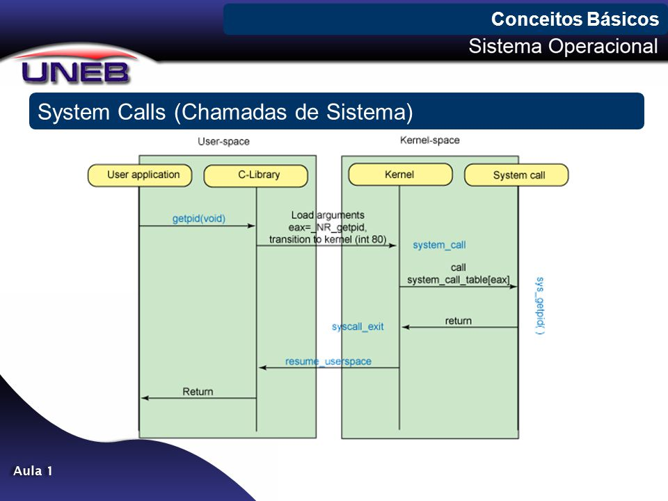System Calls (Chamadas de Sistema)