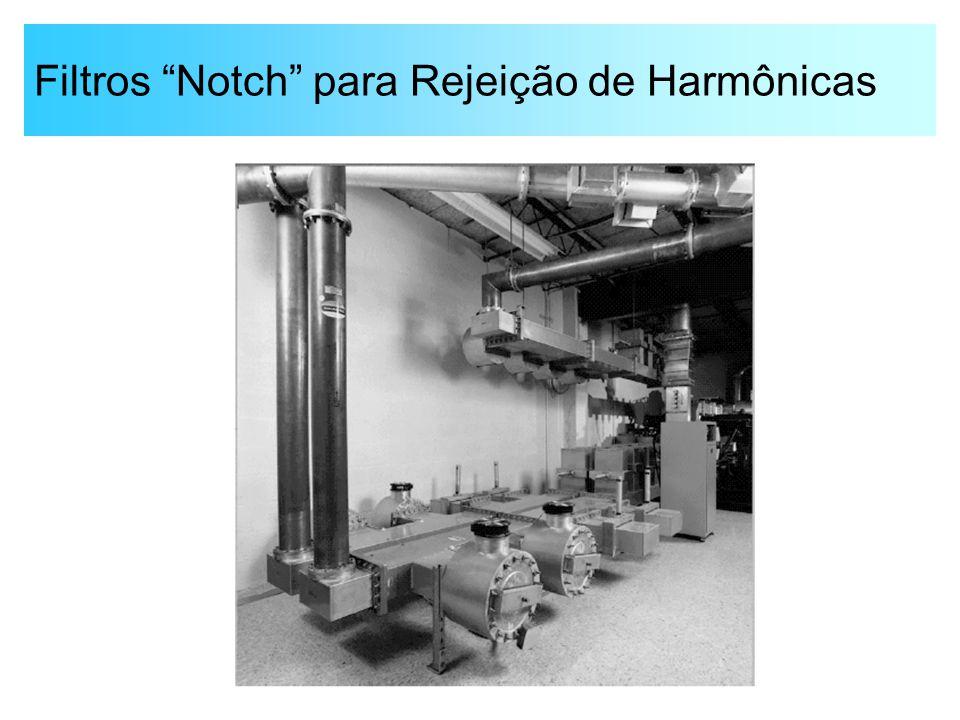 Filtros Notch para Rejeição de Harmônicas