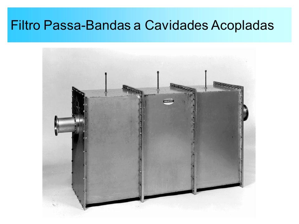 Filtro Passa-Bandas a Cavidades Acopladas