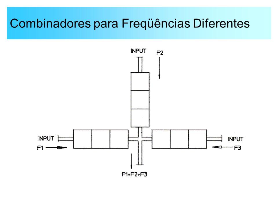Combinadores para Freqüências Diferentes