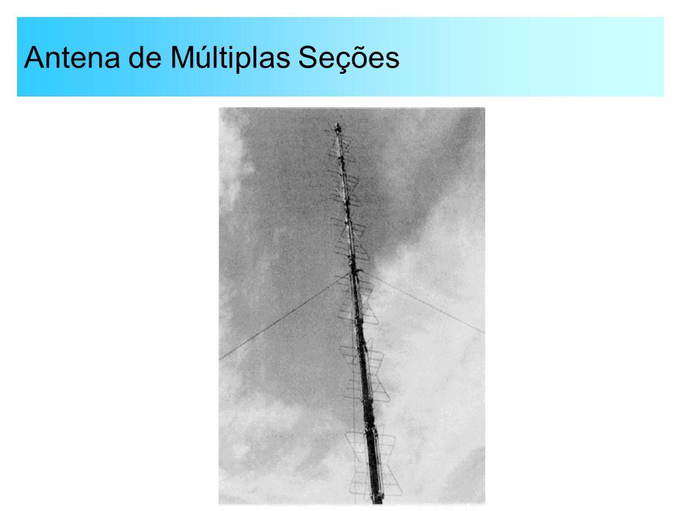 Antena de Múltiplas Seções