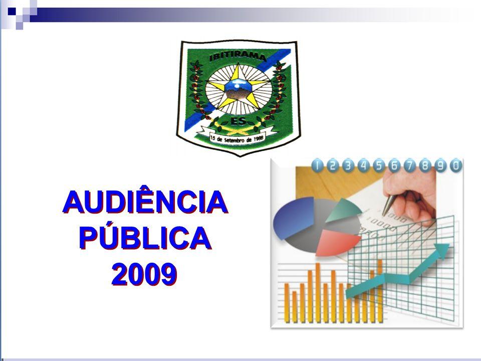 AUDIÊNCIA PÚBLICA 2009