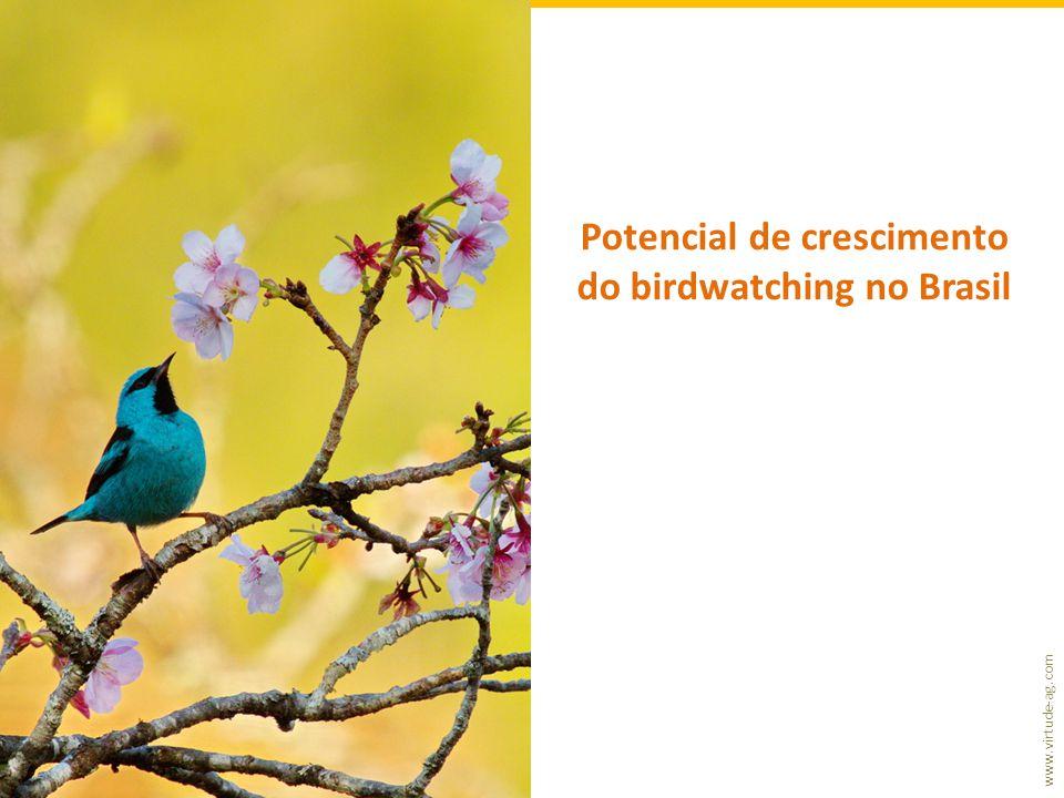 Potencial de crescimento do birdwatching no Brasil