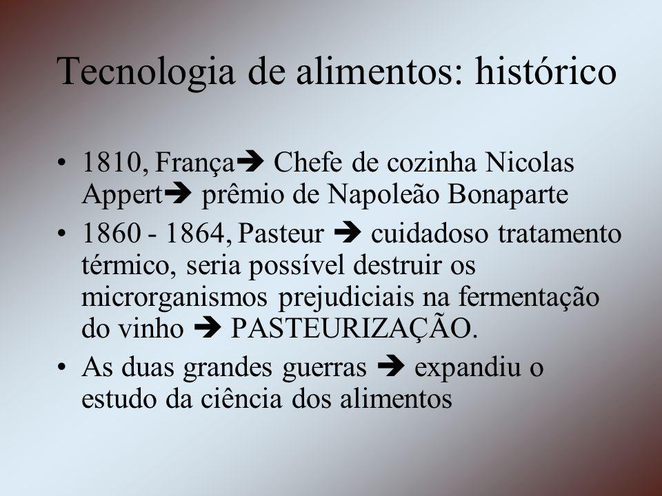 Tecnologia de alimentos: histórico