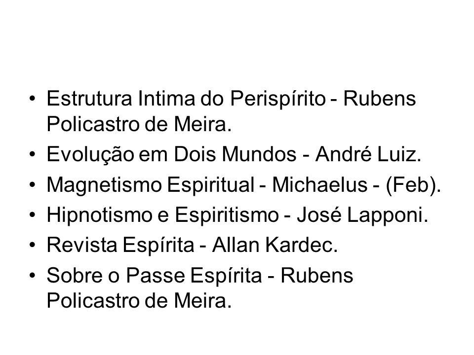 Estrutura Intima do Perispírito - Rubens Policastro de Meira.