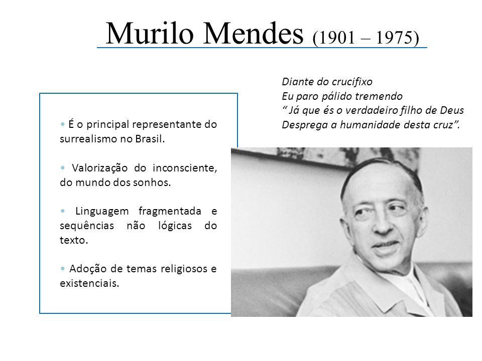 Murilo Mendes (1901 – 1975)