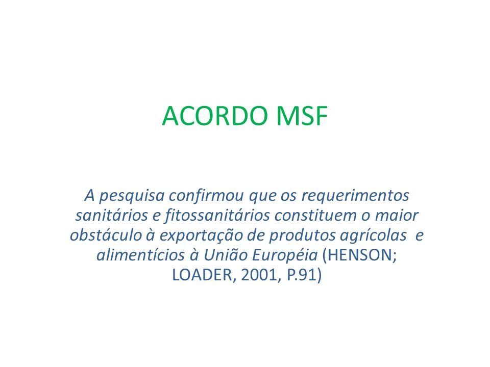 ACORDO MSF