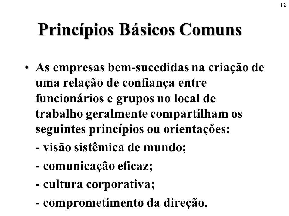 Princípios Básicos Comuns