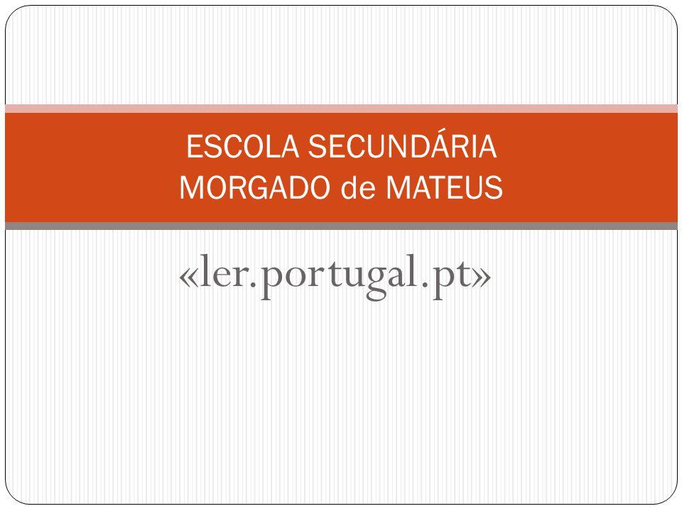 ESCOLA SECUNDÁRIA MORGADO de MATEUS