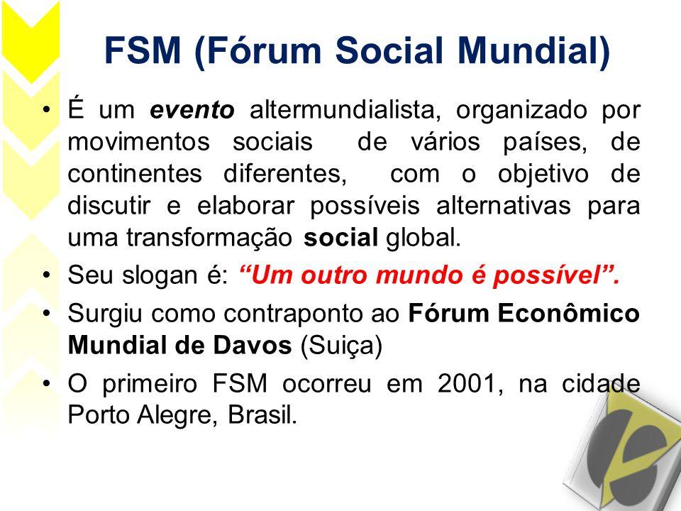 FSM (Fórum Social Mundial)