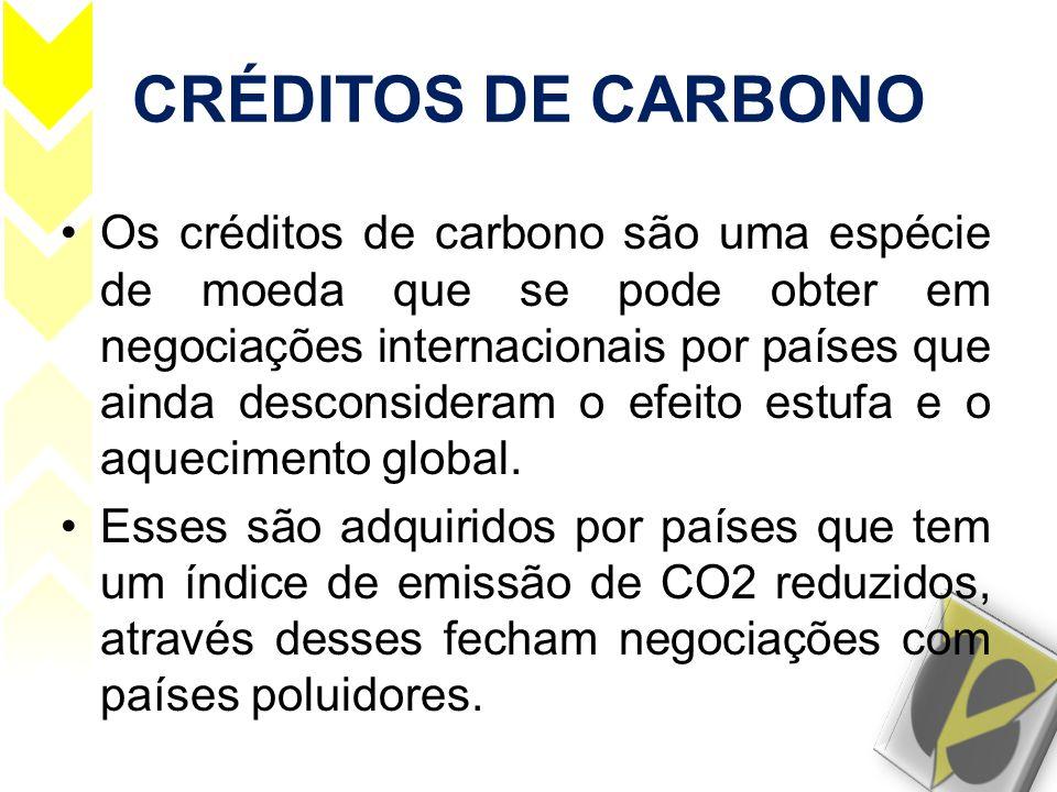 CRÉDITOS DE CARBONO