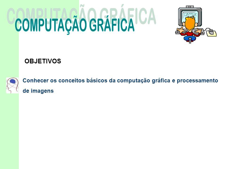COMPUTAÇÃO GRÁFICA OBJETIVOS