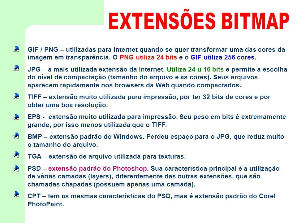 EXTENSÕES BITMAP