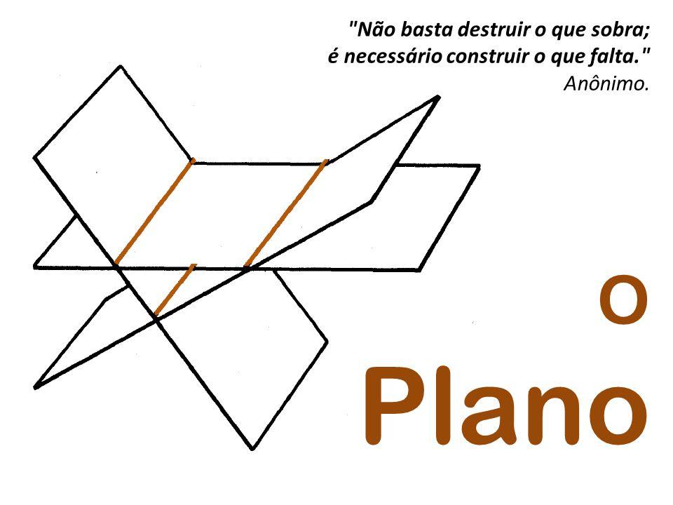O Plano Não basta destruir o que sobra;