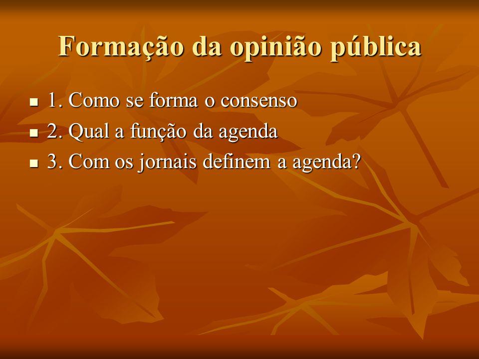 Formação da opinião pública