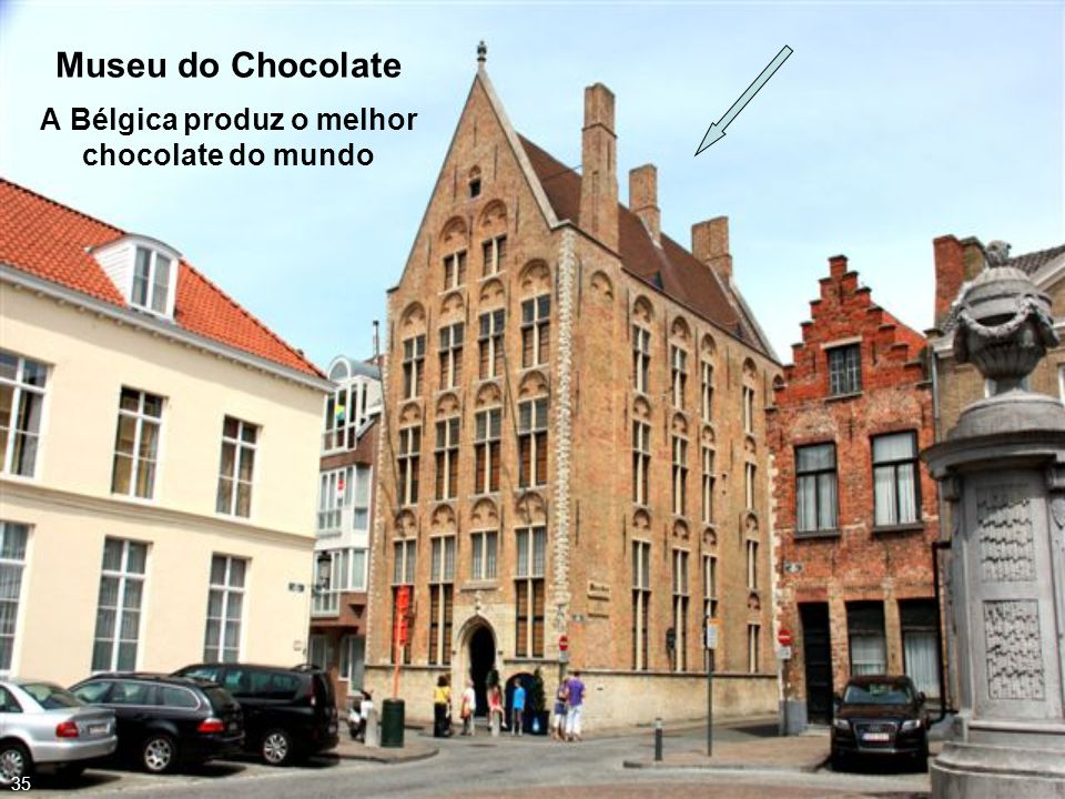 Museu do Chocolate A Bélgica produz o melhor chocolate do mundo