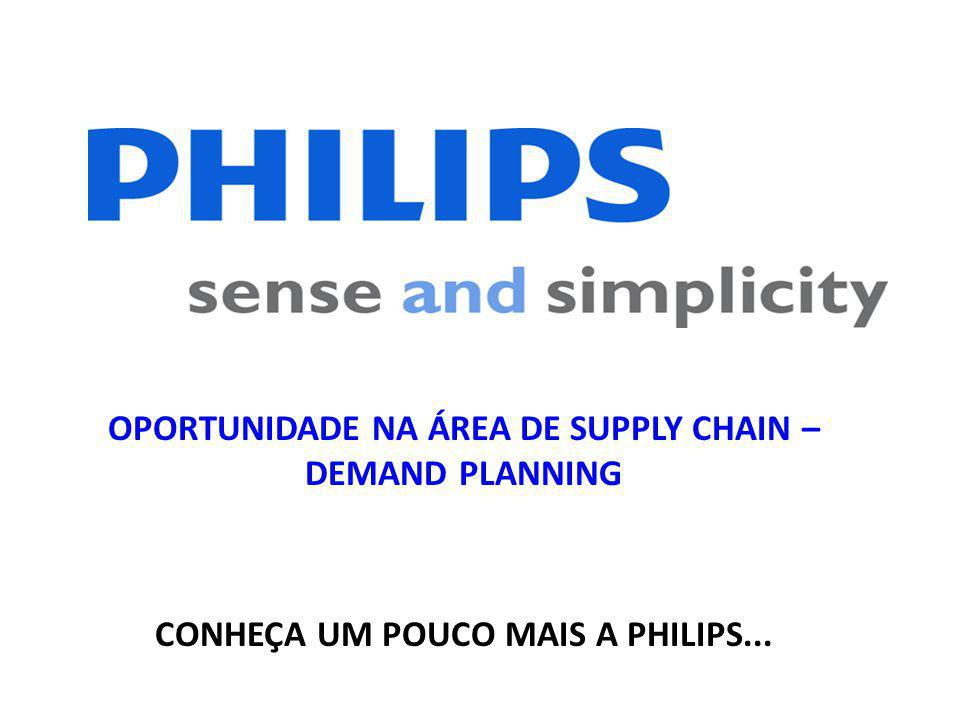 OPORTUNIDADE NA ÁREA DE SUPPLY CHAIN – DEMAND PLANNING