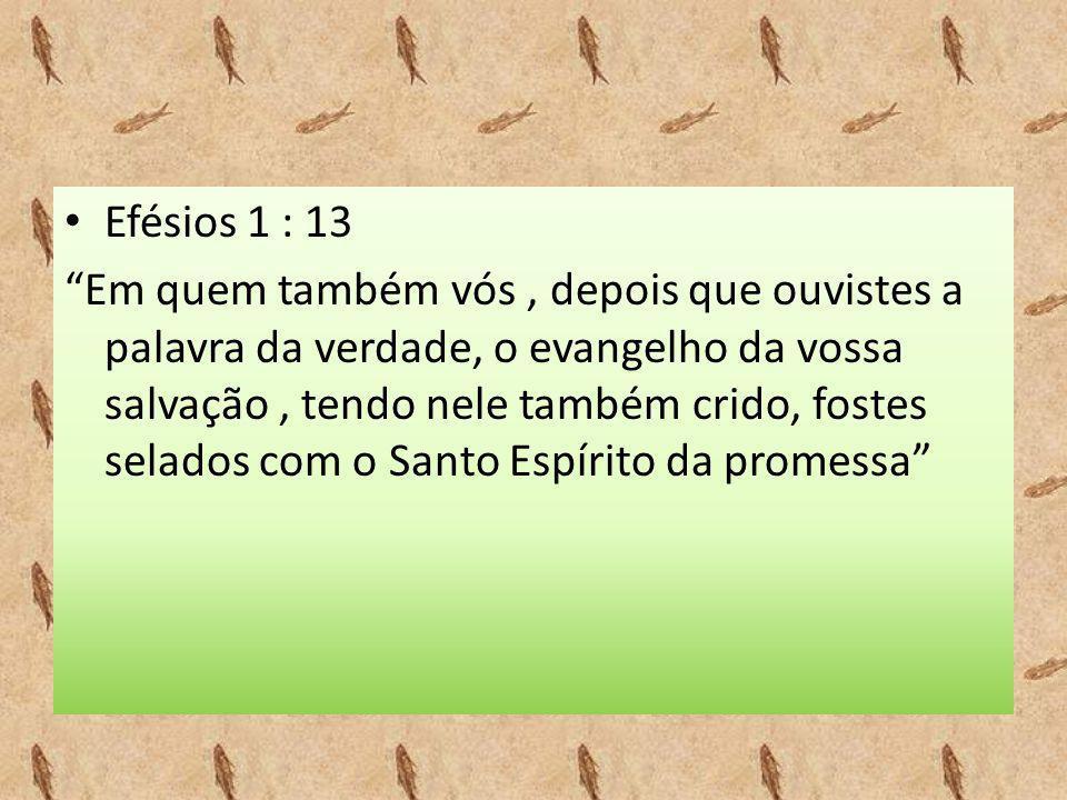 Efésios 1 : 13