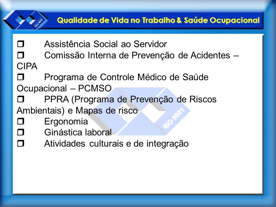 r Assistência Social ao Servidor