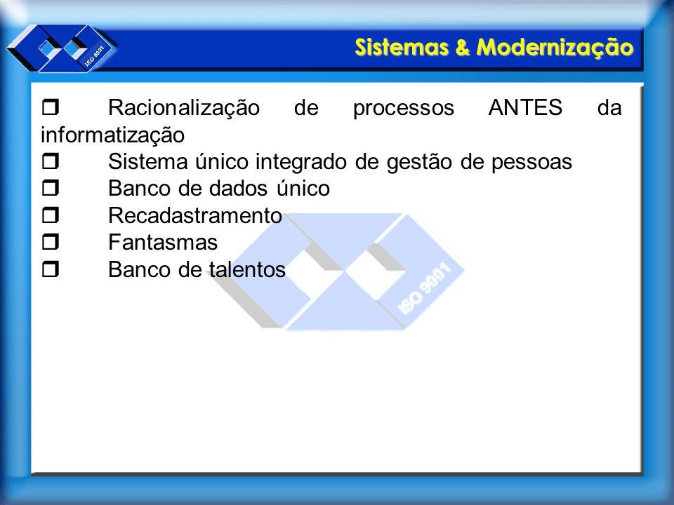 Sistemas & Modernização