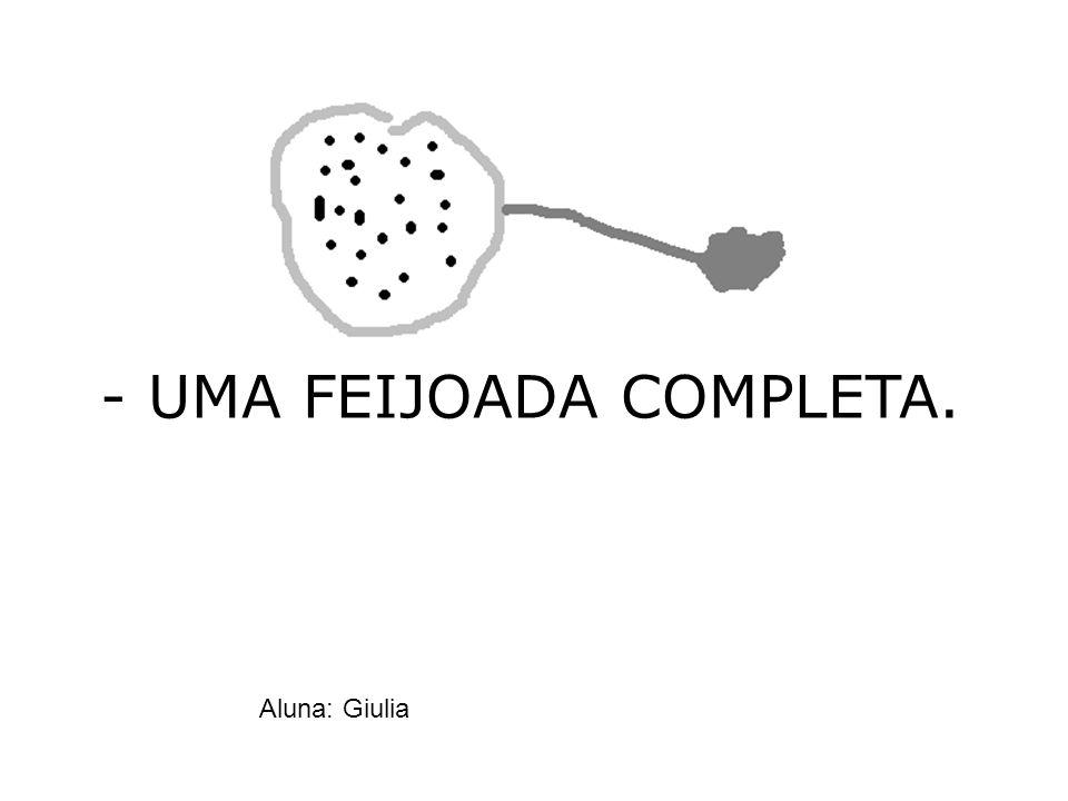 - UMA FEIJOADA COMPLETA.