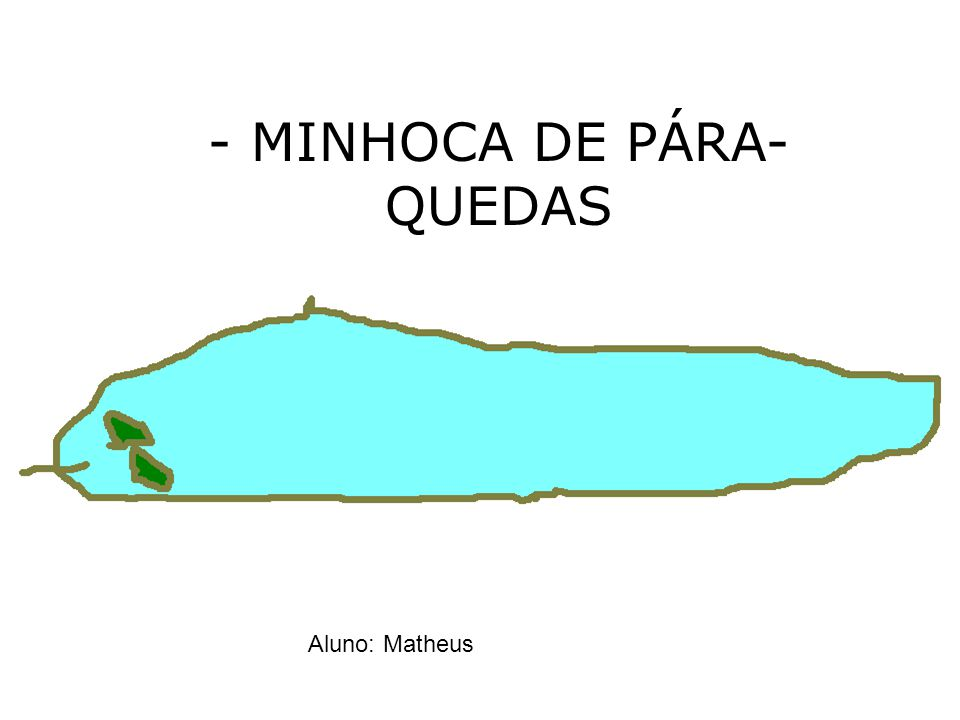 - MINHOCA DE PÁRA-QUEDAS