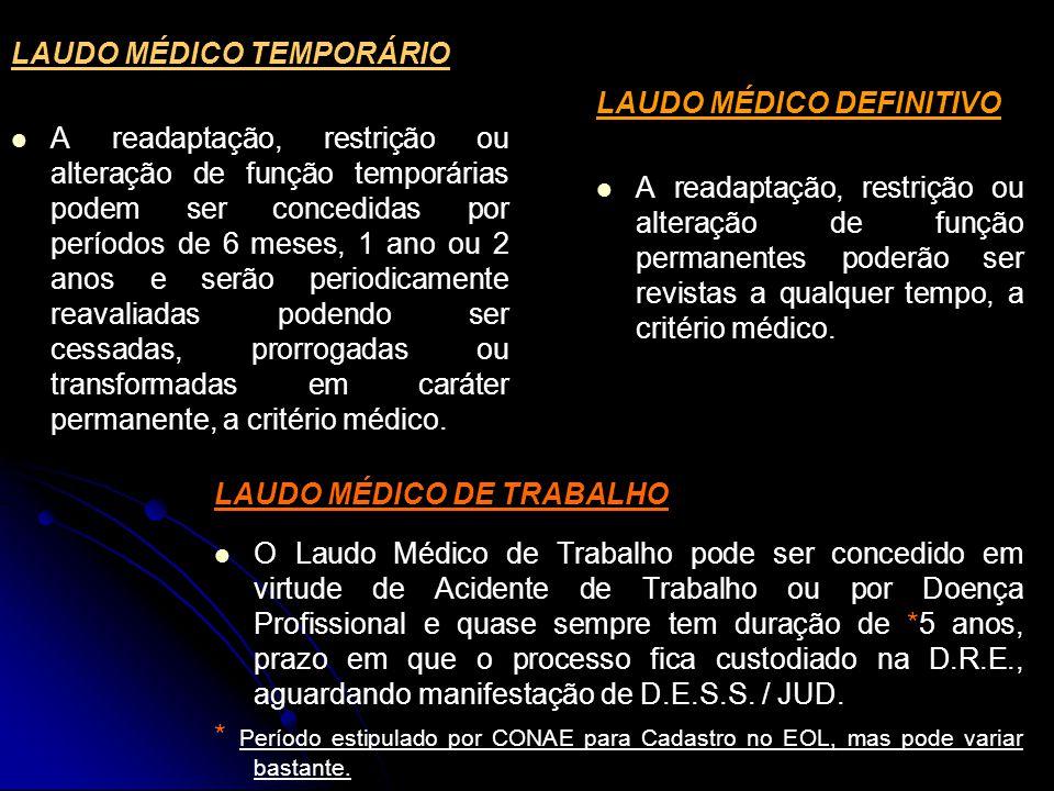 LAUDO MÉDICO TEMPORÁRIO