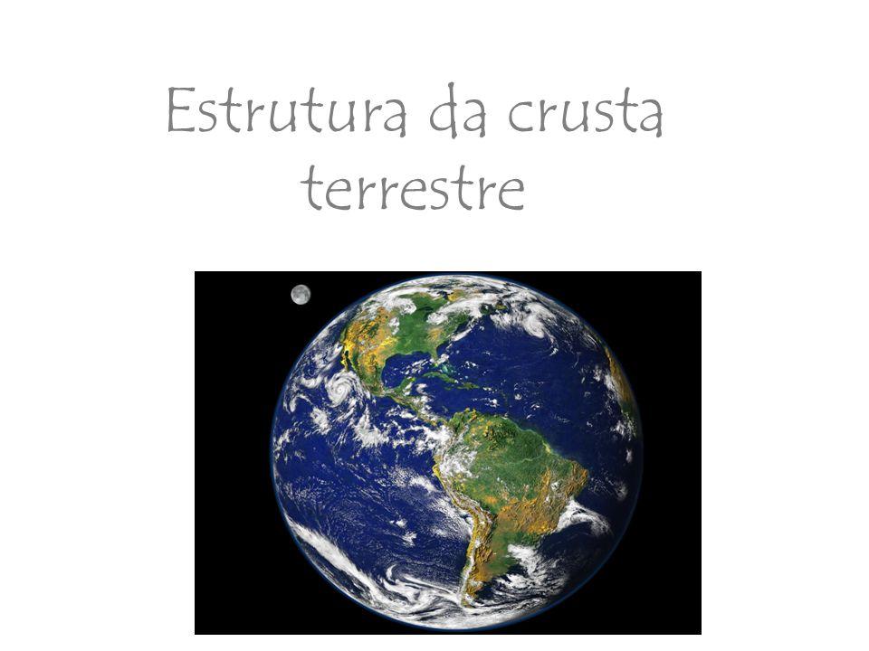 Estrutura da crusta terrestre