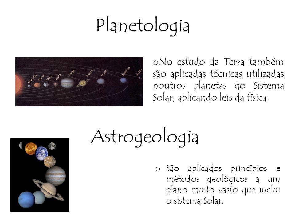 Planetologia Astrogeologia