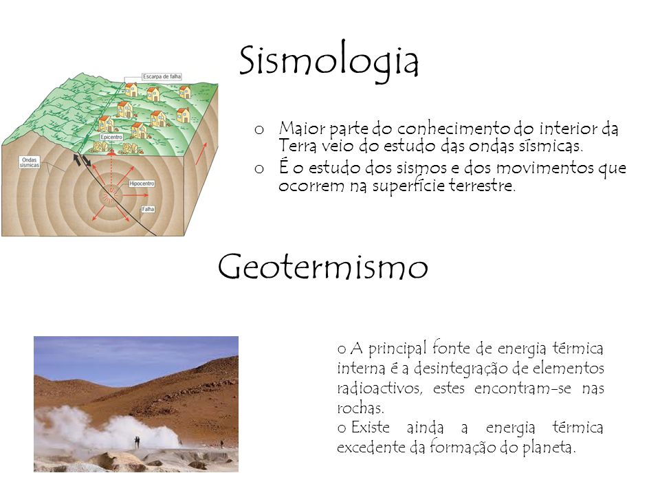 Sismologia Geotermismo