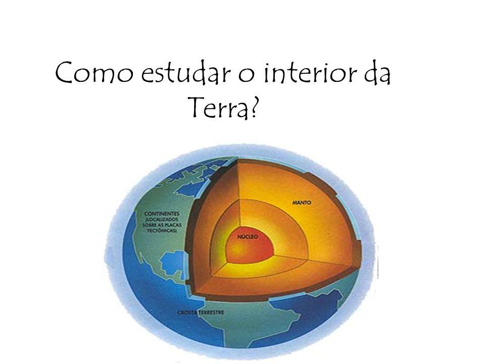 Como estudar o interior da Terra