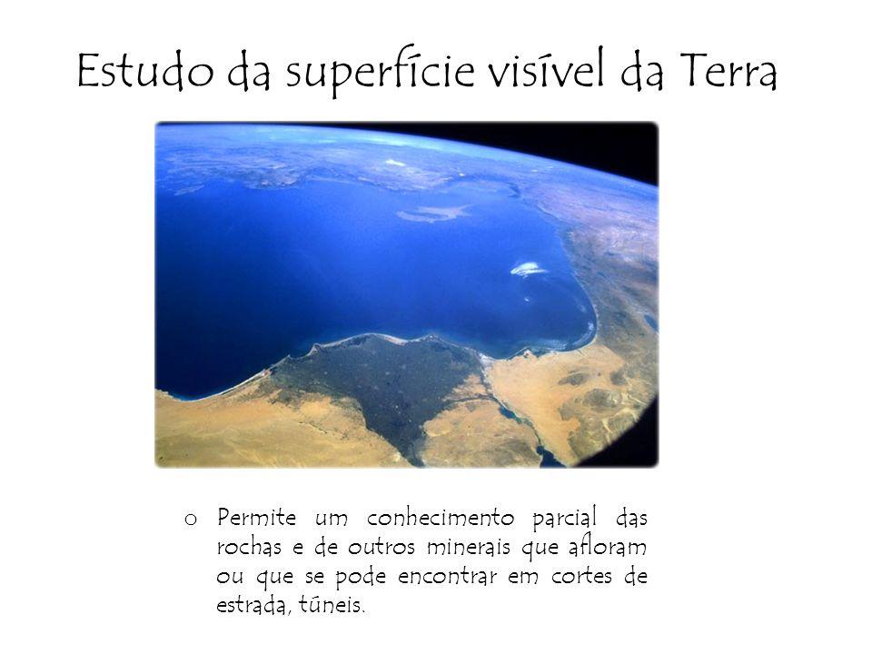 Estudo da superfície visível da Terra