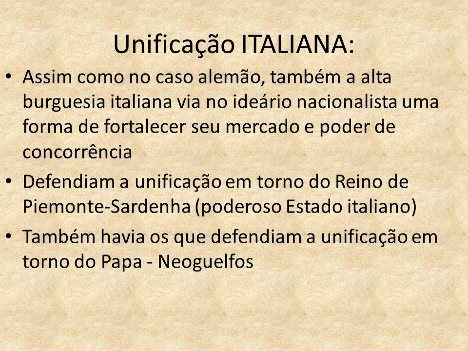 Unificação ITALIANA: