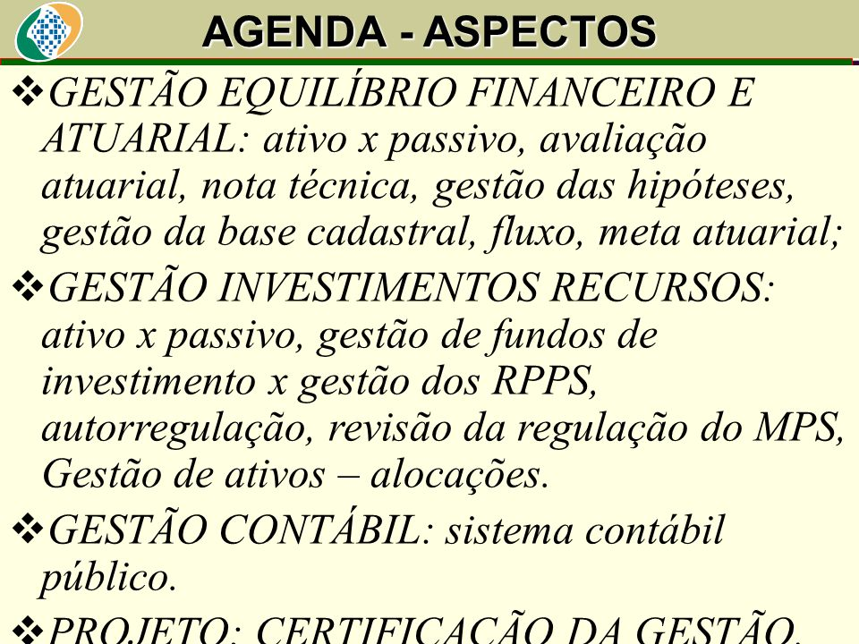 GESTÃO CONTÁBIL: sistema contábil público.