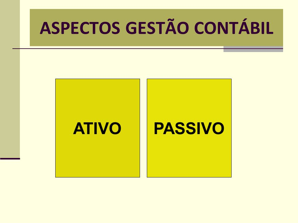 ASPECTOS GESTÃO CONTÁBIL