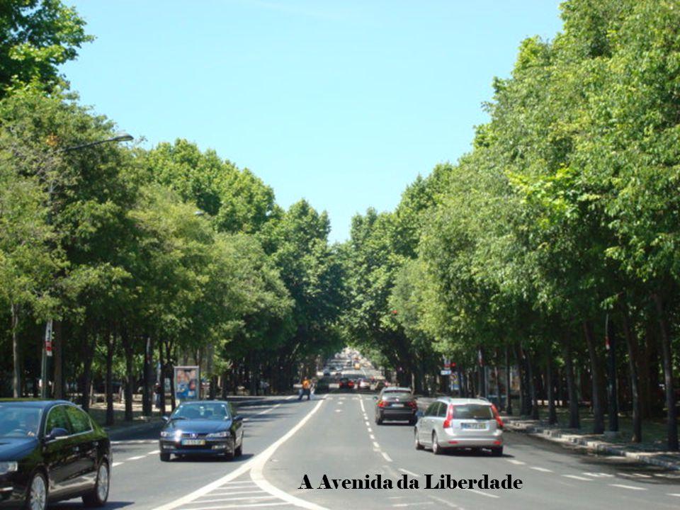 A Avenida da Liberdade