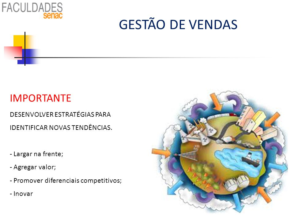 GESTÃO DE VENDAS IMPORTANTE: