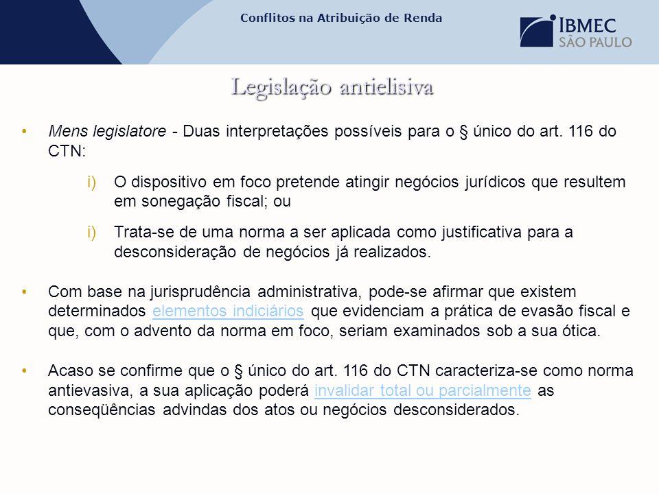 Legislação antielisiva