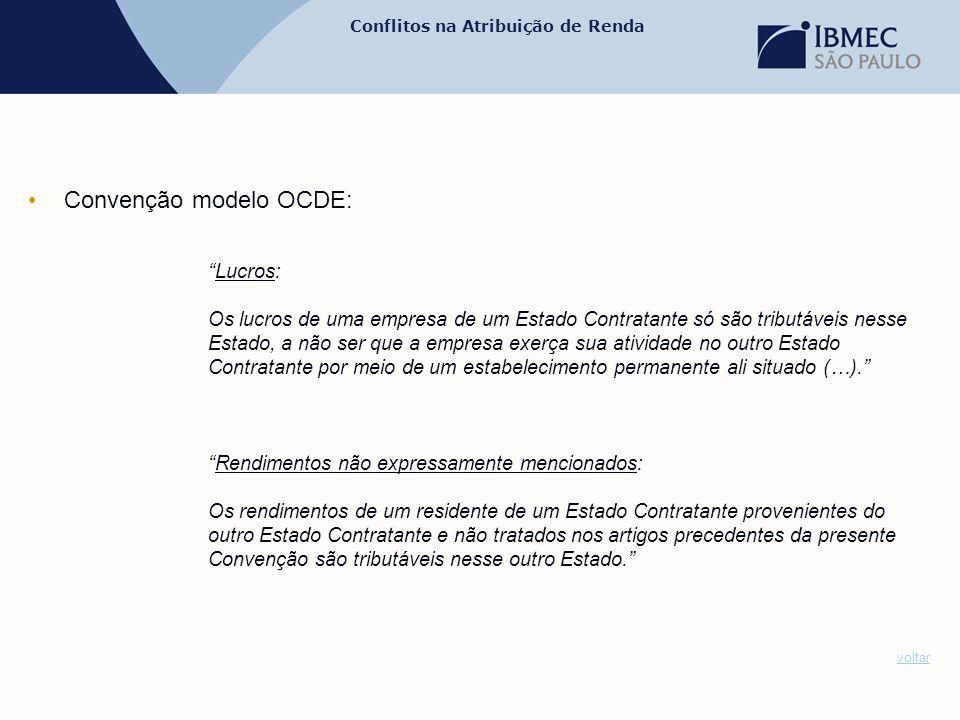 Convenção modelo OCDE: