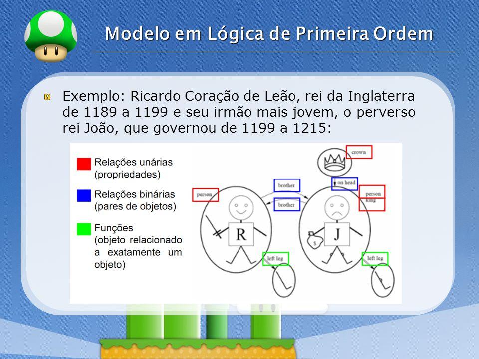 Modelo em Lógica de Primeira Ordem