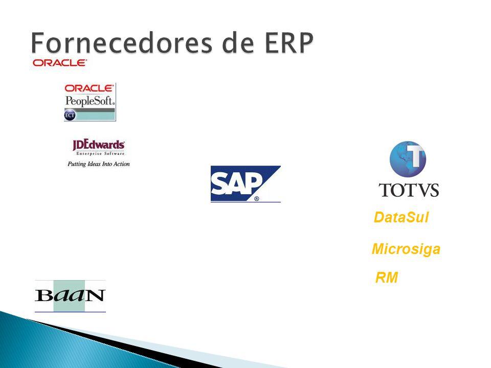 Fornecedores de ERP DataSul Microsiga RM