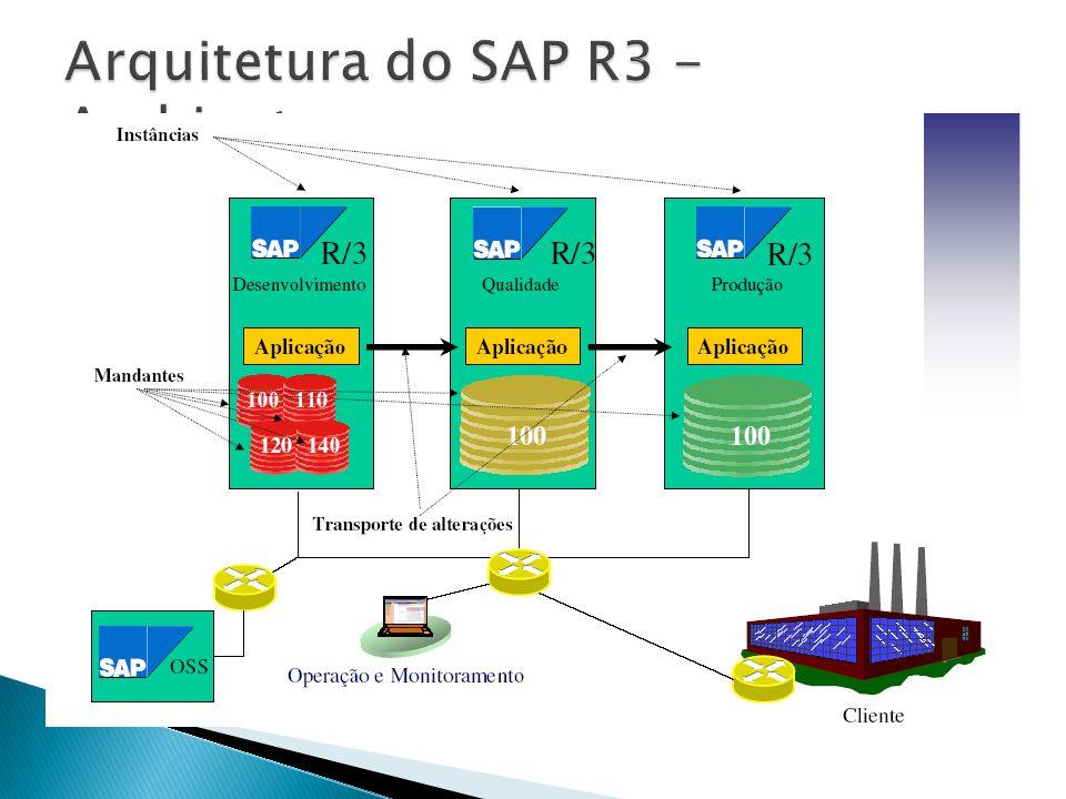 Arquitetura do SAP R3 - Ambientes