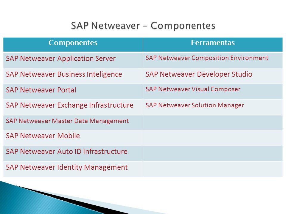 SAP Netweaver - Componentes